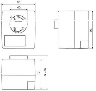 Stellmotor Wita SM 4.6