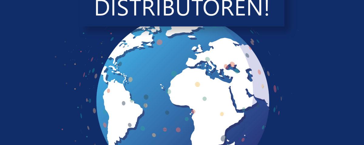 Wir denken global, daher suchen wir neue Partner für unsere Produkte.